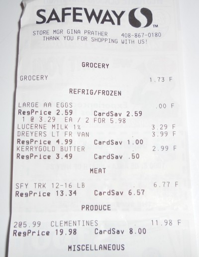 free turkey receipt
