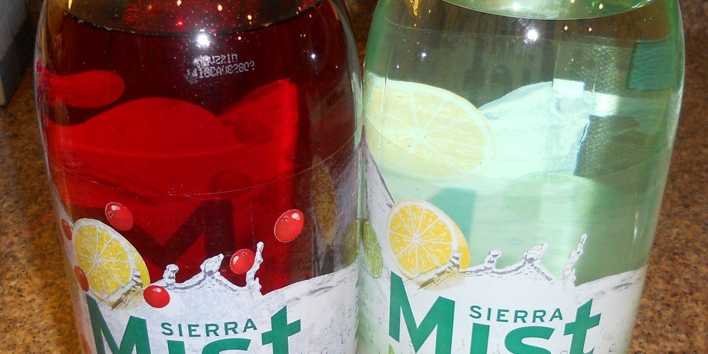 Free Sierra Mist Natural and Sierra Mist Cranberry Splash