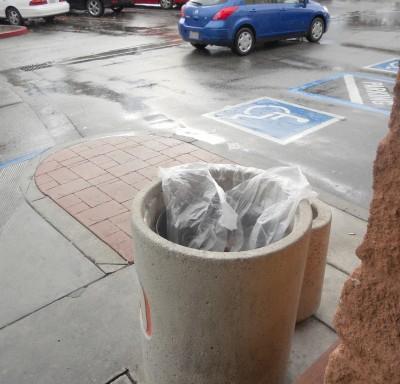 safeway trash can