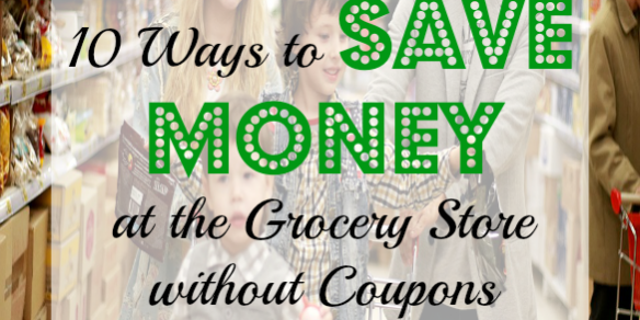 saving money without coupons, grocery shopping tips, grocery shopping advice