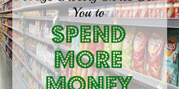 grocery shopping tips, spending more money in the grocery. grocery shopping techniques