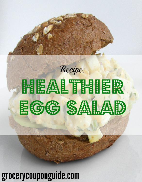 healthier egg salad recipe, healthy egg salad recipe
