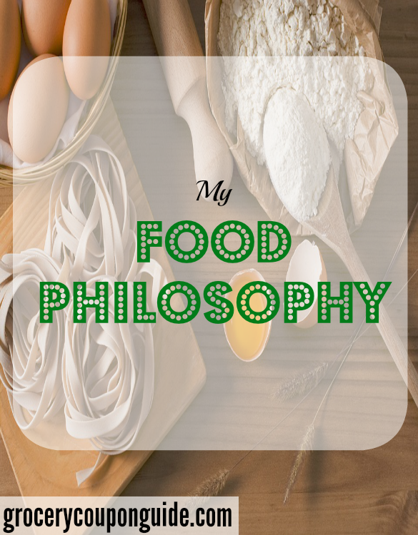 food philosophy, food principle
