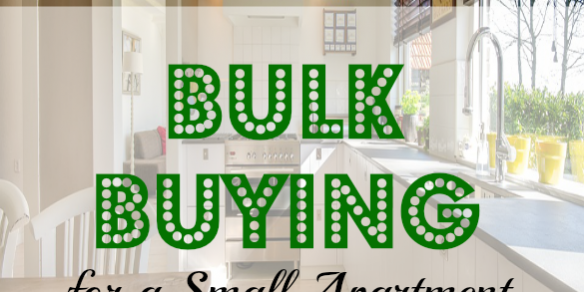 bulk buying for a small apartment grocery coupon guide
