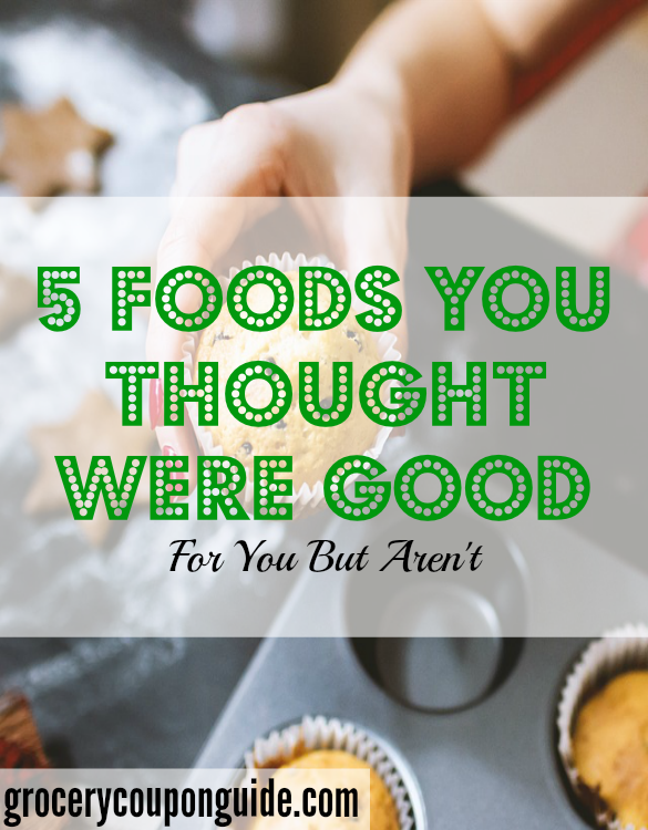 unhealthy food, foods that aren't good, not healthy food