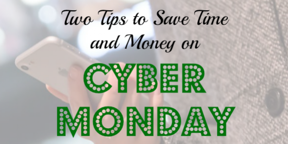cyber monday tips, cyber monday, saving time on cyber monday