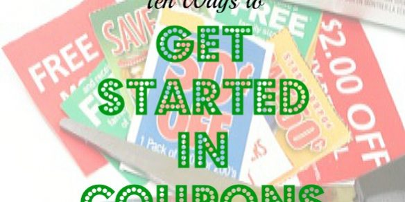 couponing tips, couponing advice, getting started with coupons