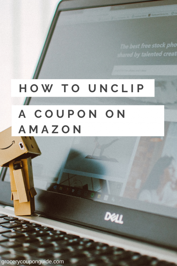 How to Unclip a Coupon on Amazon