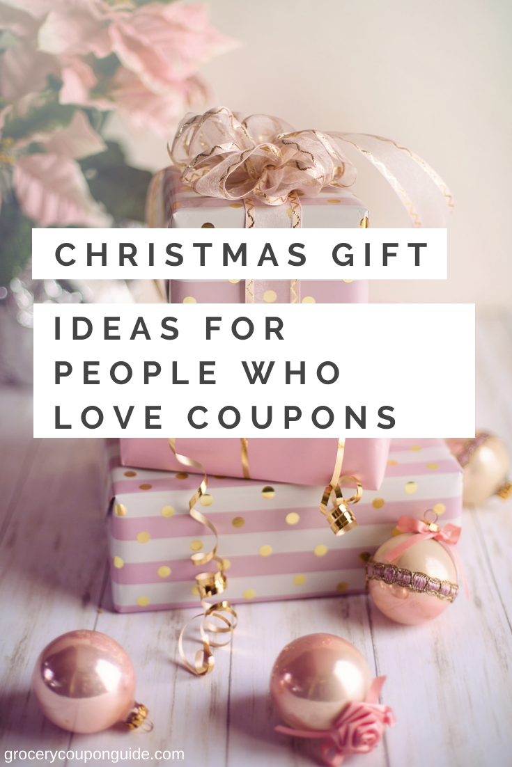Christmas Gift Ideas for People Who Love Coupons